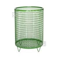 Restposten Abfallbehälter -Nr. 2- 75 Liter aus Drahtgitter