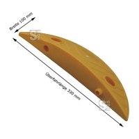 Restposten - Endstück für Temposchwelle &lt,20 km / h aus PP mit Stecksystem, Höhe 40 mm