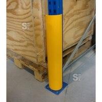 Restposten Regalanfahrschutz -Bounce Medium- aus HDPE, Höhe 600 mm, für Stützenbreite 100 mm
