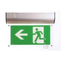 Restposten Rettungszeichenleuchte -LED Premium- mit Autotest-Funktion, Erkennungsweite 25 m
