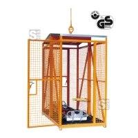 Rettungskorb -R1075- mit Zugöse und Federbeinen, Nutzlast 250 kg