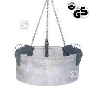 Rohrgehänge -R1061- für senkrechte Rohre, Tragkraft 1500-4000 kg, mit Sicherheitsarretierung