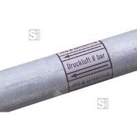 Rohrleitungs-Kennzeichnungsbänder, DIN 2403:2007-05, Rollenlänge 33 m
