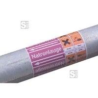 Rohrleitungs-Kennzeichnungsbänder mit Gefahrsymbol, DIN 2403:2007-05