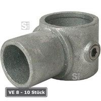Rohrverbinder -Drehstück-, VE 8 - 10 Stück, aus Temperguss, TÜV-geprüft