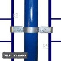 Rohrverbinder -Gitterhalter zweiseitig-, VE 5 - 10 Stück, aus Temperguss, TÜV-geprüft