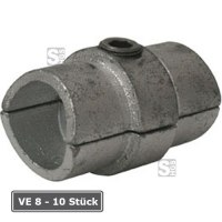 Rohrverbinder -Innen-, VE 8 - 10 Stück, aus Temperguss, TÜV-geprüft