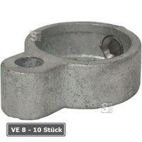 Rohrverbinder -Türöse-, VE 8 - 10 Stück, aus Temperguss, TÜV-geprüft