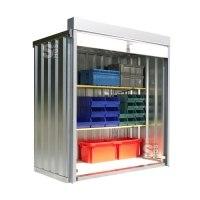 Rollladenbox -STRB 1100-, ca. 2 m², mit Holzfußboden