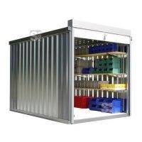 Rollladenbox -STRB 1300-, ca. 6 m², mit Holzfußboden
