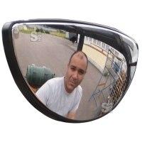 Rückspiegel Vumax® 3 für Gabelstapler, gem. EG-Richtlinie CE 98 / 37