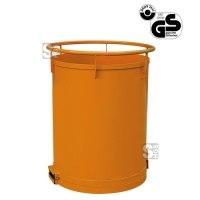 Rundbehälter -R2038- mit Bodenklappe, 300-500 Liter, Traglast 500 kg