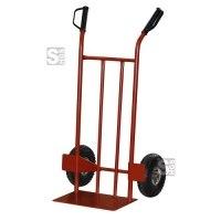 Sackkarre -300-, Tragfähigkeit 300 kg, aus Stahl, mit Handschutzgriffen und Radschutz