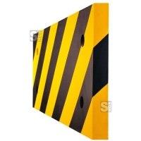 Säulenschutz aus PU- Länge 500 mm, Höhe 200 mm, hochwertig, flexibel