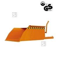 Schaufel -S2062- für Gabelstapler, mit Staplereinfahrtaschen, 300-2500 Liter, lackiert oder verzinkt