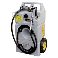 Schmierstofftrolley -CEMO- 100 Liter, aus Polyethylen, mit selbstansaugender Elektro-Zahnradpumpe 12 V