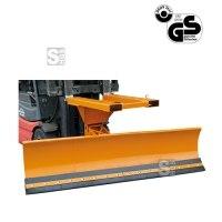 Schneepflug -S2073- aus Stahl für Gabelstapler, Räumschildbreite 1500 - 2400 mm