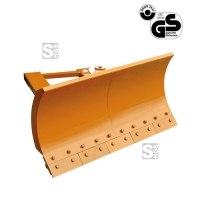 Schneeschieber -S2071- aus Stahl für Gabelstapler, Räumschildbreite 1500-2400 mm, verschiedene Kanten
