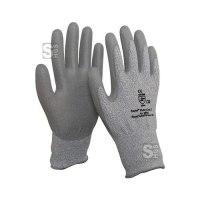 Schnittschutzhandschuh -PremiumLine-, Schnittschutzkl. 5, mit PU-Beschichtung, EN 388, CE-geprüft