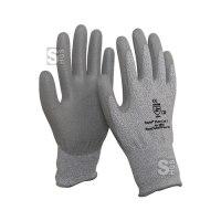Schnittschutzhandschuh -PremiumLine-, Schnittschutzklasse 5, Innenhand mit PU-Beschichtung, nach EN 388, CE-geprüft