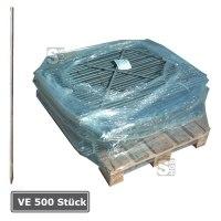 Schnurnagel mit angeschmiedeter Spitze, VE 500 Stück, Ø 16 mm, Länge 800 bis 1200 mm