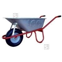 Schubkarre Capito -Allcar 100-, 100 Liter, mit Kippbügel, Einzelabnahme oder Set 5 Stück