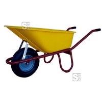 Schubkarre Capito -Allcar 100 PP-, 100 Liter, mit Kippbügel, Einzelabnahme oder Set 5 Stück