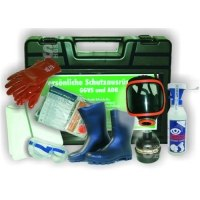 Schutzausrüstungskoffer -PSA IV-, mit Erste Hilfe Ausrüstung, nach ADR / GGVSE