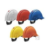 Schutzhelm -G3000C- aus ABS-Kunststoff, Austausch-Anzeige, 3-Punkt-Kinnriemen, nach DIN EN 397