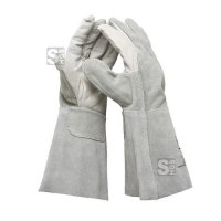 Schweißerhandschuh -ClassicLine- aus Spaltleder (vollständig), nach EN 388, CE-geprüft