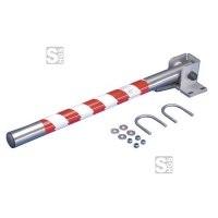 Sicherheitsschranke -Safe Guardian- für Steigleitern, aus Edelstahl, Breite 575 und 800 mm