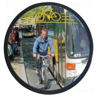 Sicherheitsspiegel Cyclomir® für Fahrradfahrer, Ø 320 mm