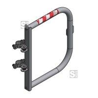Sicherheitstür -Safe Guardian Universal- für Steigleitern, aus Aluminium, Breite 500 - 1000 mm