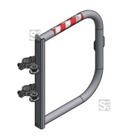 Sicherheitstür -Safe Guardian Universal- für Steigleitern, aus Edelstahl, Breite 500 - 1000 mm
