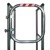 Sicherheitstür -Safe Guardian- für Steigleitern, aus Aluminium, Breite 500 mm