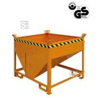 Silobehälter -S2054- mit Auslaufschieber, Auslauf seitlich, 300-1000 Liter