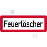 Sonderschild, Feuerlöscher, 597 x 210 mm