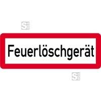 Sonderschild, Feuerlöschgerät, 597 x 210 mm