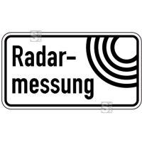 Sonderschild, Radarmessung