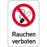 Sonderschild, Rauchen verboten, 400 x 600 mm