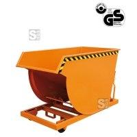 Spänebehälter -S2045- mit Siebblech-Einsatz und Rollen, 300-750 Liter, lackiert oder verzinkt