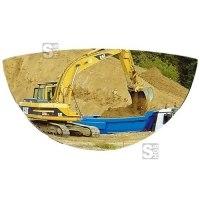 Spiegel Vumax® für Straßenbau- und Landwirtschaftsmaschinen