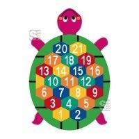Spielplatzmarkierung Hüpfspiel DecoMark® -Schildkröte- aus Thermoplastik