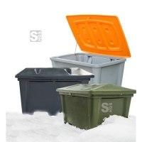 Streugutbehälter -Snow- aus PE, stapelbar, 100 - 500 Liter