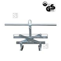 Stufenversetzzange -S1542-, Tragkraft 250 kg, Öffnungsweite 40-510 mm, Einhängeöse, lackiert oder verzinkt