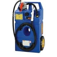 Trolley -AdBlue®- 60 Liter aus Polyethylen, mit Kurbel- oder Elektropumpe