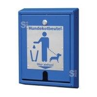Tütenspender -City A- für Hundekotentsorgung, zur Wand- oder Mastbefestigung