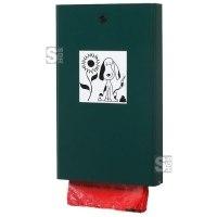 Tütenspender -Cubo Ernesto- für Hundekotentsorgung, aus Stahlblech