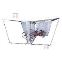 Überdachungssystem -Helena-, doppelseitig, mit PVC-Regenrinne und Fallrohr