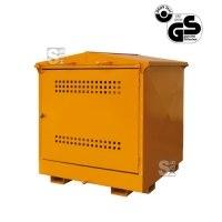 Umweltschutzdepot -U3030- zur Lagerung wassergefährdender Stoffe, Volumen 200-1000 Liter, lackiert oder verzinkt